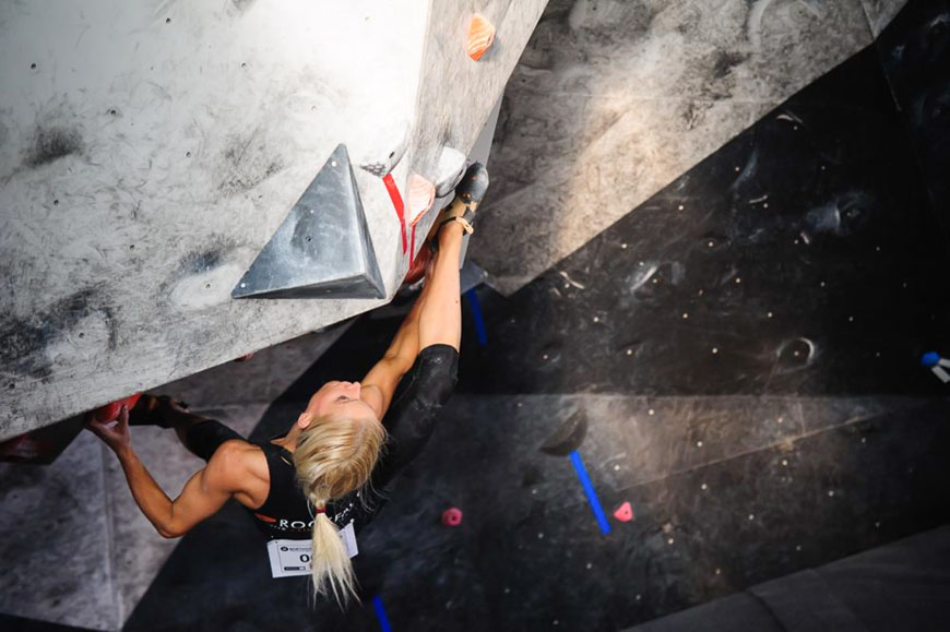 Bouldering Training Clinic with Anna Davey plus Now David Barretto