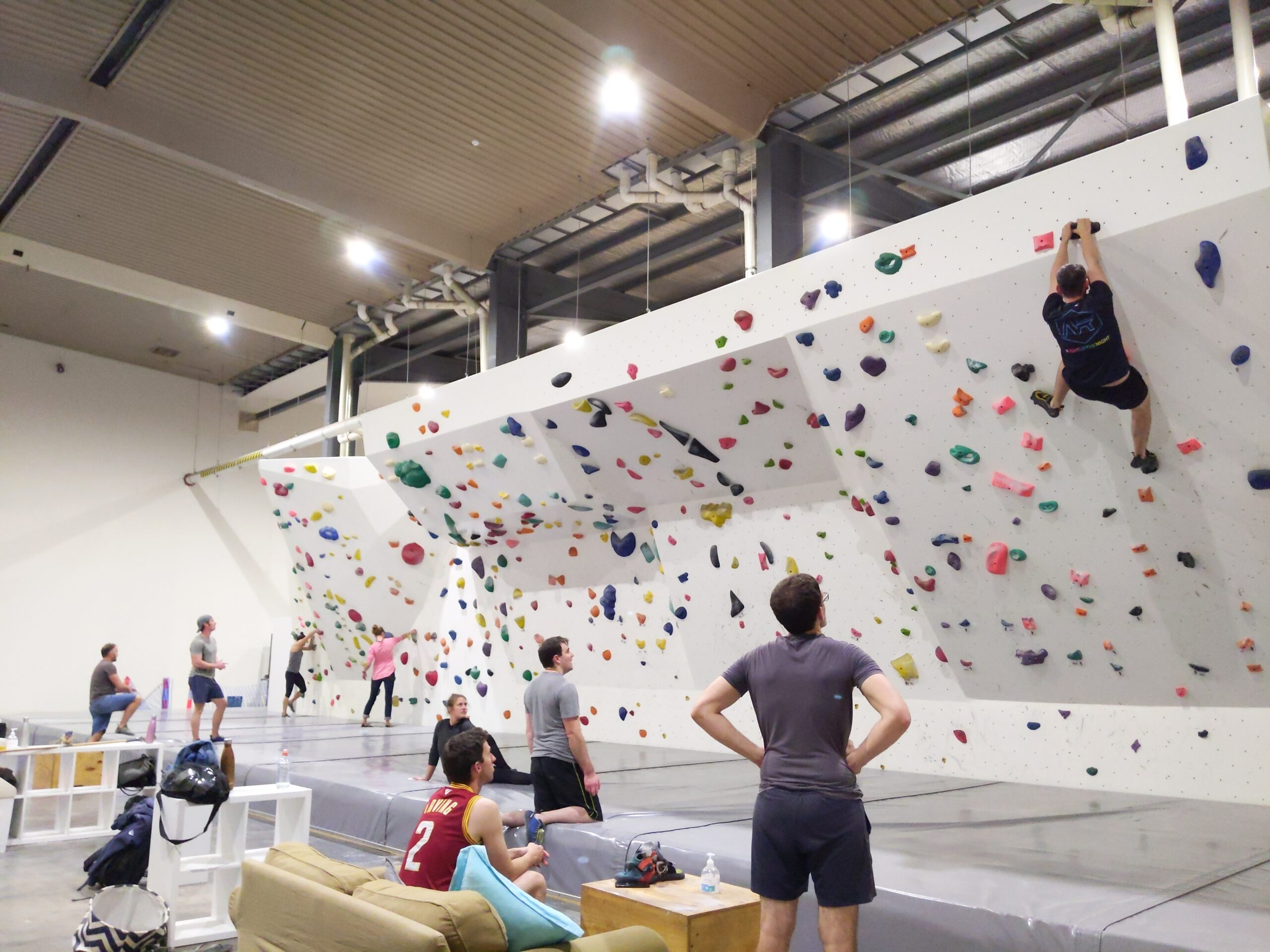 Experienced Climbers