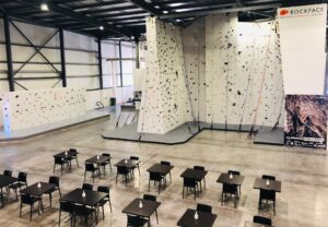 Overview of top-rope walls