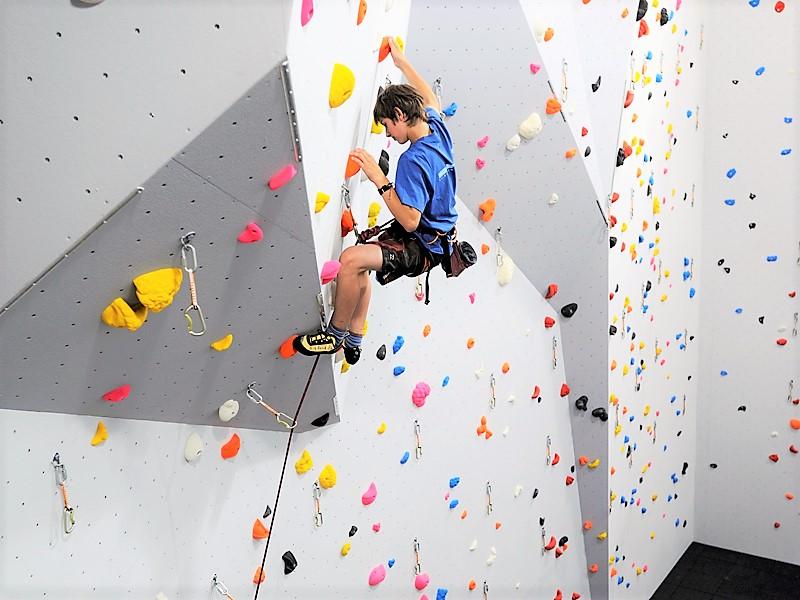 Indoor Lead Climbing